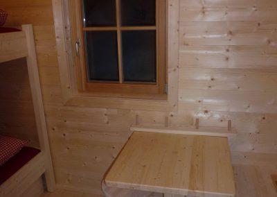 Mobiliar 4-Bett-Zimmer